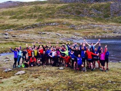 50 of the shortlisted trail runners in the beautiful Lake District