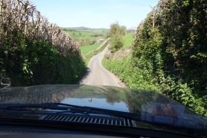 Gorgeous single track roads handily meant that cars couldn't pass me without giving me directions