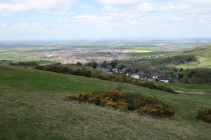 Cleeve Hill views