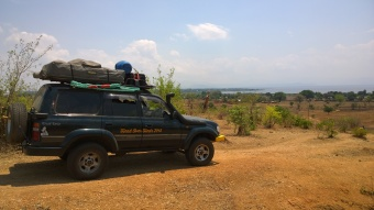 A view of Lake Malawi whilst looking for a bit of privacy